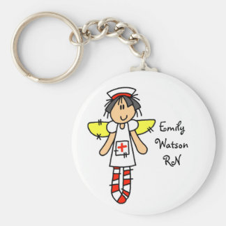 Nurse Angel Keychain