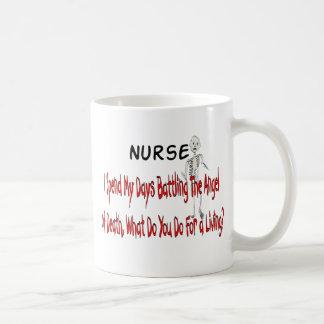 "Nurse ""Angel of Death""---Funny Gifts Coffee Mug"