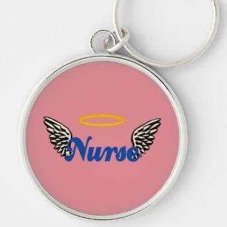 Nurse Angel Wings Keychain
