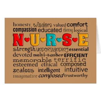 Nurse Appreciation Greeting Card