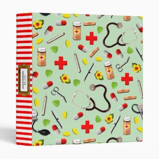 Nurse Appreciation Vinyl Binders