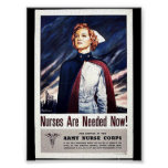Nurse Are Needed Now! Poster
