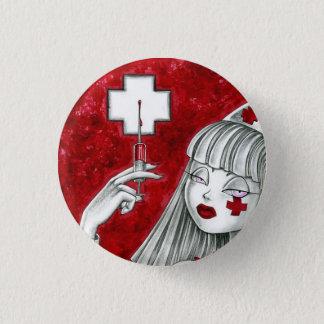 Nurse Auntie Emma 1 Inch Round Button