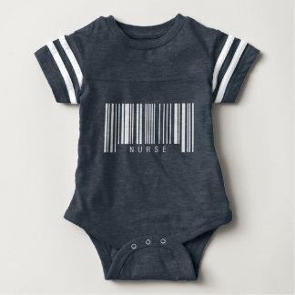 Nurse Barcode Baby Bodysuit