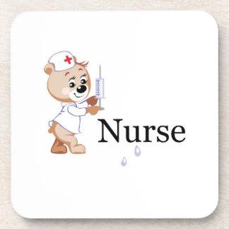 Nurse Bear Drink Coasters