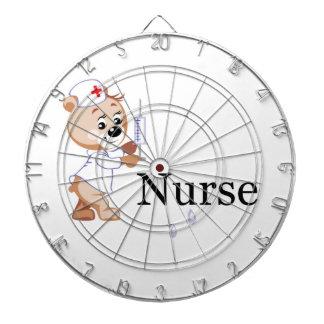 Nurse Bear Dartboard