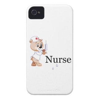 Nurse Bear iPhone 4 Case-Mate Cases