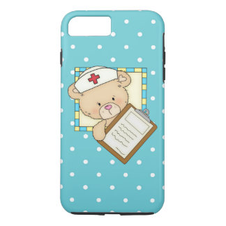 Nurse Bear iPhone 7 plus tough case