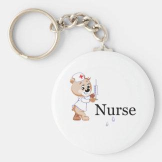 Nurse Bear Key Chains