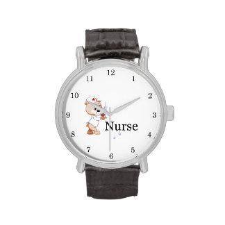Nurse Bear Wristwatches