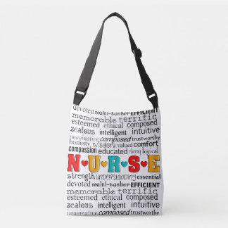 Nurse Best Adjectives Crossbody Bag