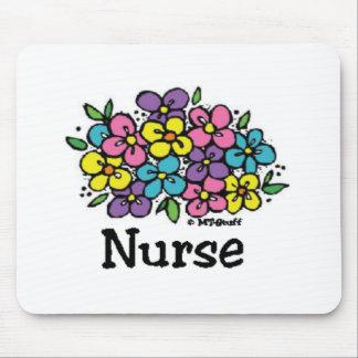 Nurse Blooms 2 Mouse Pad