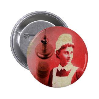 Nurse 2 Inch Round Button