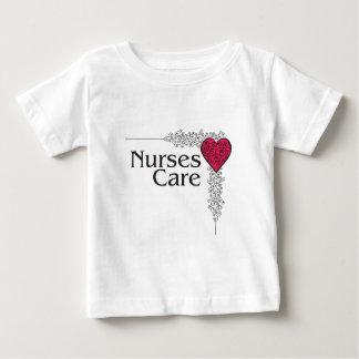 nurse care heart baby T-Shirt