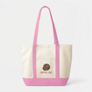 Nurse Cat Tote Bag