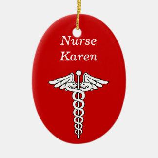 Nurse Christmas Ornament