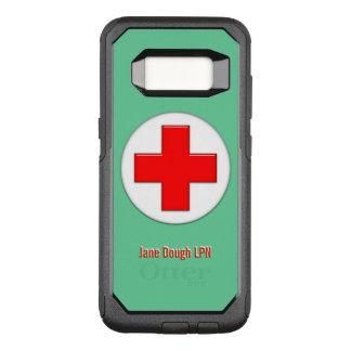 Nurse Cross Name Template OtterBox Commuter Samsung Galaxy S8 Case