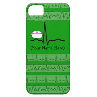 Nurse Design iPhone 5 Barely There Case Green