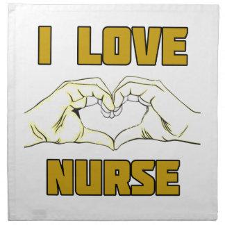 nurse design napkin