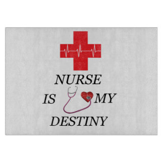 Nurse Destiny Cutting Board