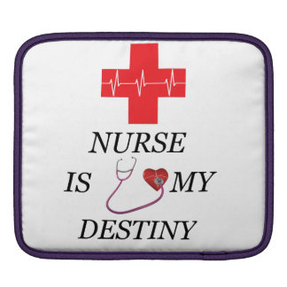 Nurse Destiny iPad Sleeve