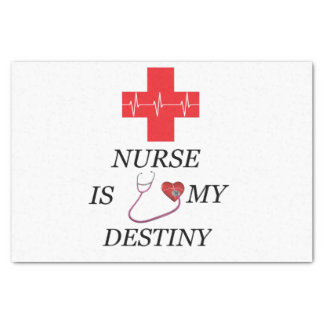 Nurse Destiny Tissue Paper