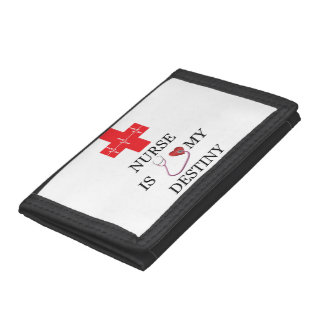 Nurse Destiny Tri-fold Wallets