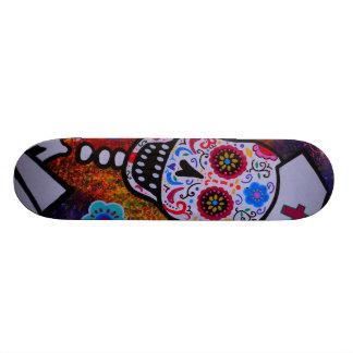 NURSE DIA DE LOS MUERTOS Skateboard