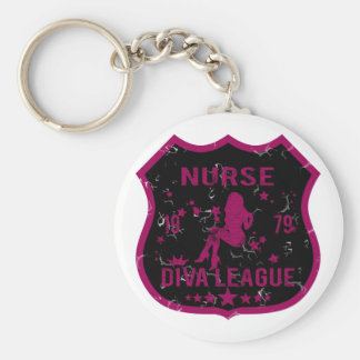 Nurse Diva League Keychain