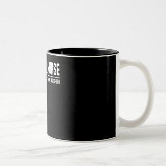 Nurse Everyday Superhero Nurse Pride Shirt Two-Tone Coffee Mug