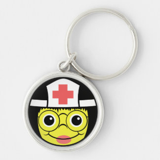 Nurse Face Keychain