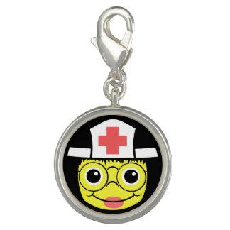 Nurse Face Photo Charm