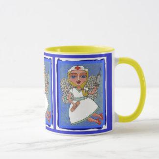 Nurse Fairy - nursing mug of caring