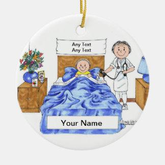 Nurse - Female Ceramic Ornament