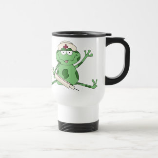 Nurse Frog Travel mug