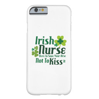 Nurse Funny St Patricks Day Gift Funny Barely There iPhone 6 Case