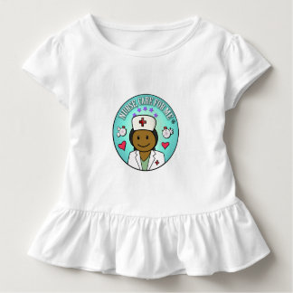 Nurse Gifts Black Nurse Care For Me Toddler T-shirt
