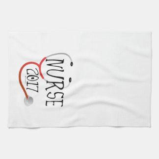 Nurse Graduate 2017 Kitchen Towel
