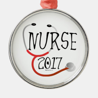 Nurse Graduate 2017 Metal Ornament