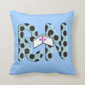 Nurse Graduation Pillow RN