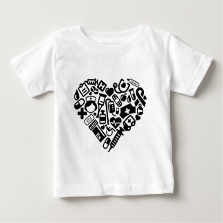 Nurse HEART Baby T-Shirt