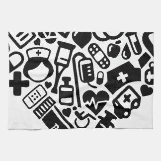 Nurse HEART Kitchen Towel