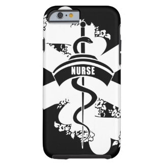 Nurse Heart Tattoo Tough iPhone 6 Case
