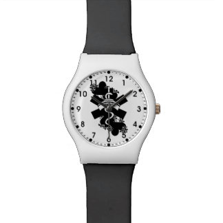 Nurse Heart Tattoo Watch