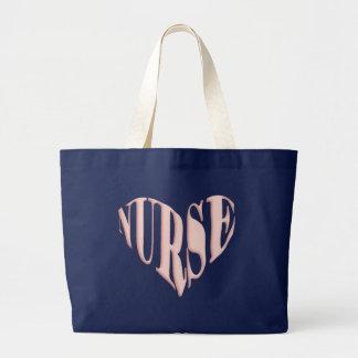 Nurse Heart Tote Bag