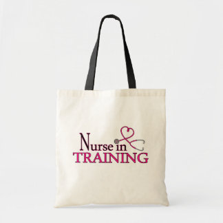 Nurse in Training - Pink Tote Bag