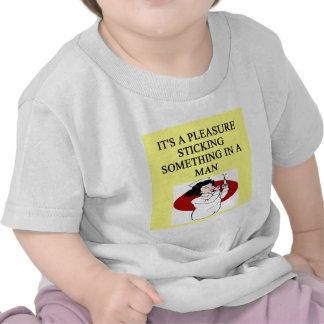 NURSE joke Tee Shirts