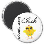 Nurse Manager Chick v1 Refrigerator Magnets