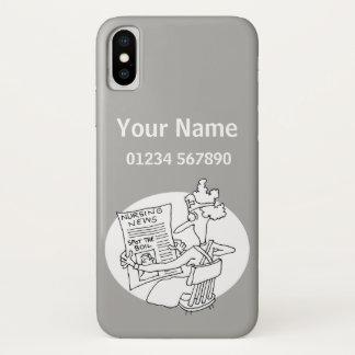 Nurse - Medical Theme Cartoon Case-Mate iPhone Case