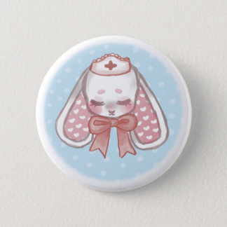 Nurse Mimi (without eyepatch) 2 Inch Round Button
